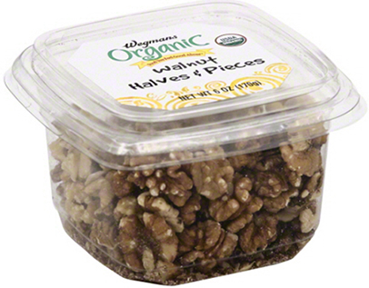 Wegmans Organic Walnut Halves & Pieces
