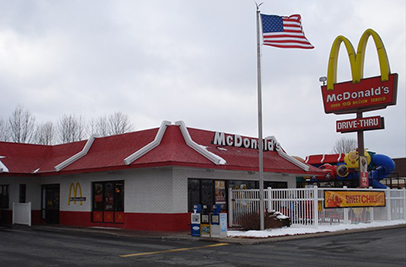 McDonald's in Waterloo, NY