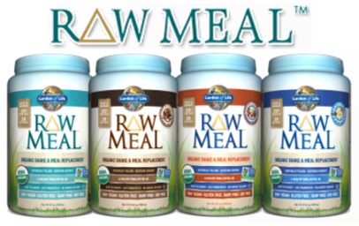 Raw Meal powdered mixes from Garden of Life