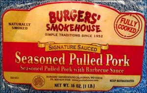 Burgers' Smokehouse label