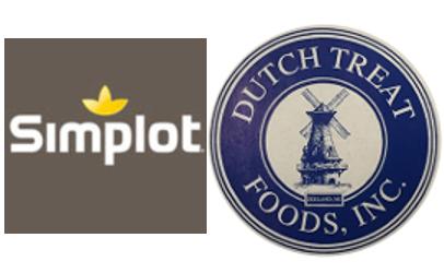 Simplot and Dutch Treat logos