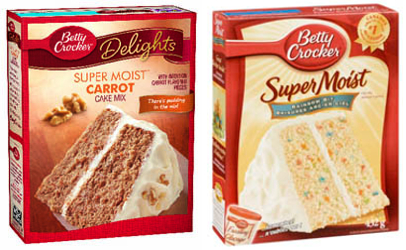 Betty Crocker cake mixes under recall in the U.S.