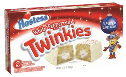 recalled Hostess peppermint Twinkies Valley Milk