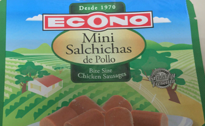 recalled Econo chicken sausage