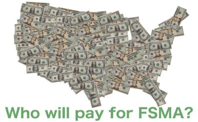 illustration US map of money FSMA