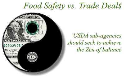 illustration food safety vs trade deals