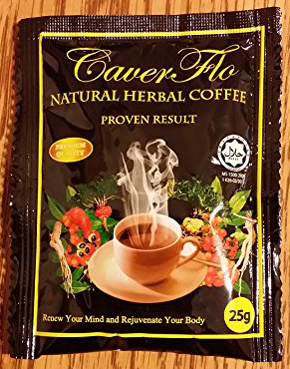 recalled Caverflo natural herbal coffee