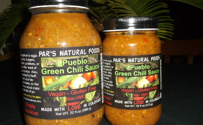 Pars Natural Foods Pueblo Green Chili Sauce