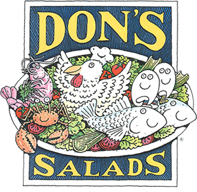 logo Dons Salads full view