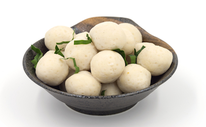 Frozen fish ball products recalled for not listing milk on for Fish ball with roe