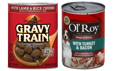 Gravy Train & Ol Roy Dog Food