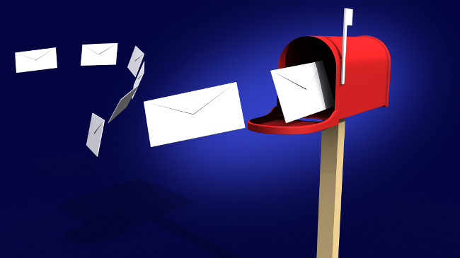illustration letters mailbox