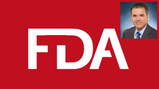 FDA logo with Frank Yiannas