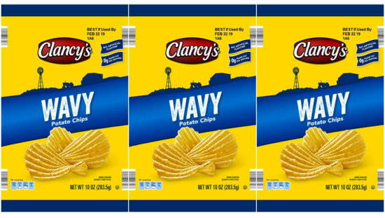 recalled Clancys chips