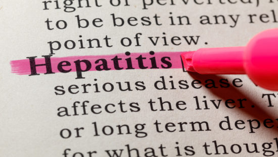 definition of hepatitis