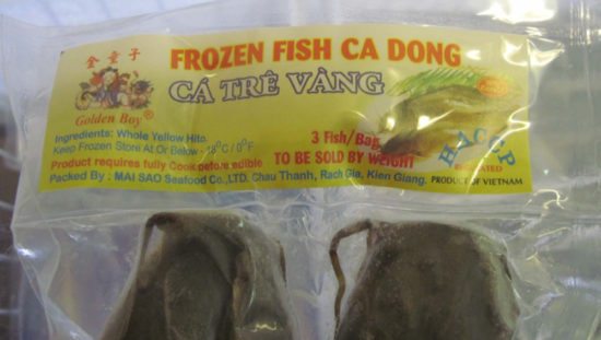 recalled catfish TV Food LLC