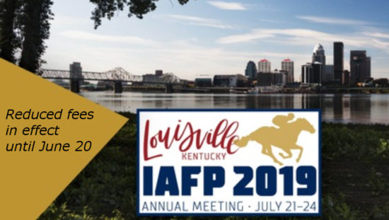 Discounted registration available for IAFP 2019 in
