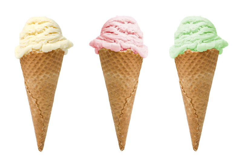 Three Ice Creams