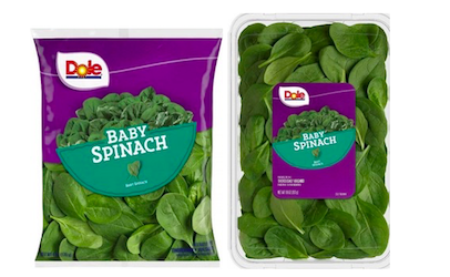 Kentucky among states covered by spinach recall