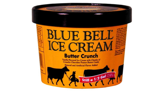 Blue Bell recalls Butter Crunch Half Gallons for possible foreign object