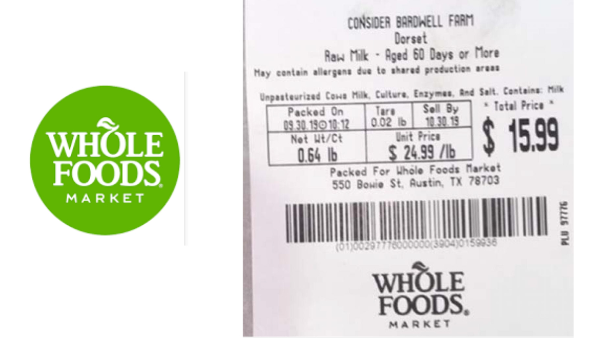recalled whole foods cheese