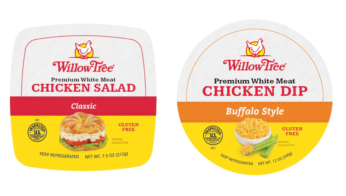 recalled Willow Tree salad and dip