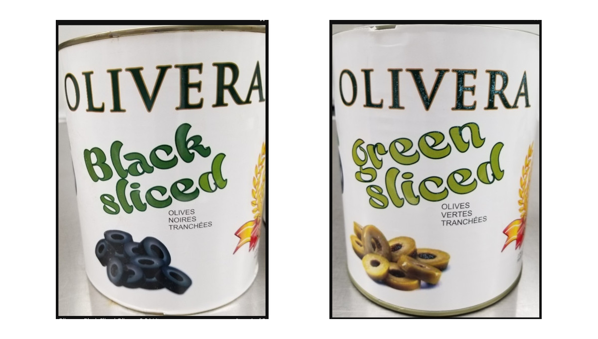 recalled canned olives